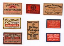 Collctable OLD match box labels Rare types Sweden  #050